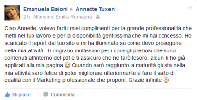 Recensione Emanuela Baioni Marketing Matrimonio