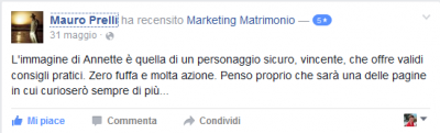 Recensione Mauro Prelli Marketing Matrimonio
